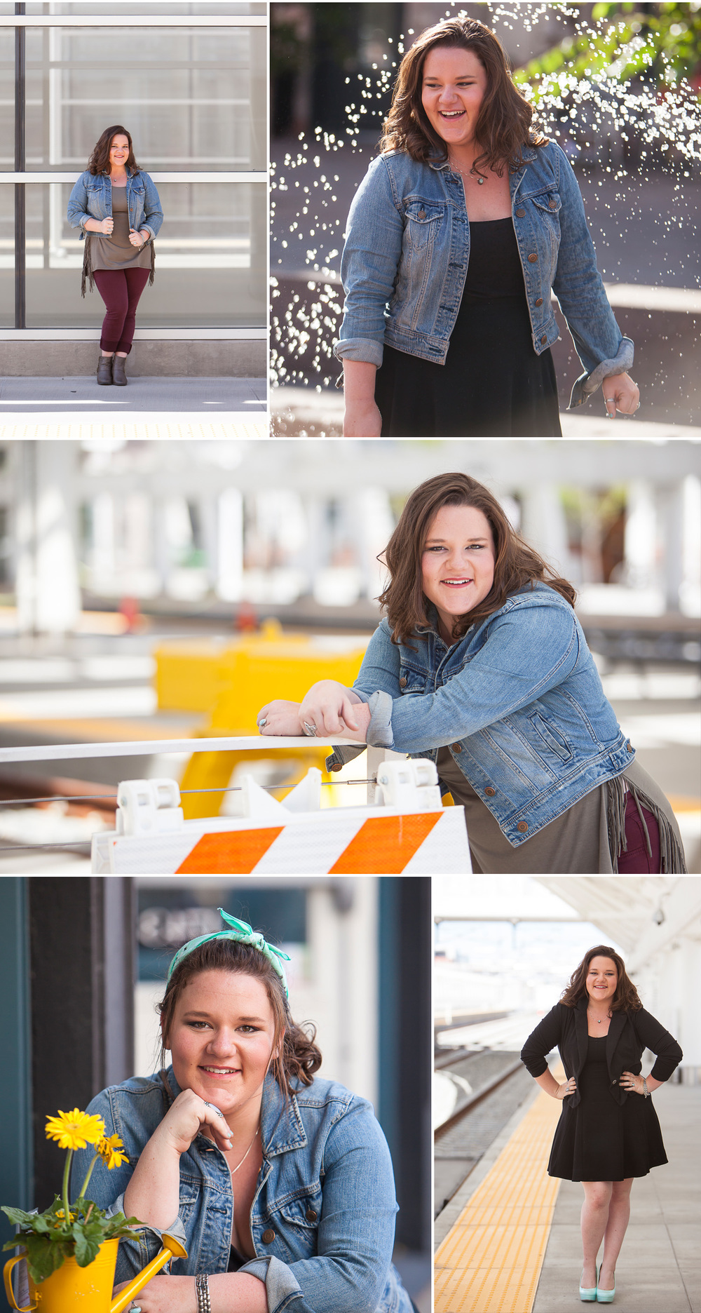 Senior pictures in downtown Denver with photographer Jennifer Koskinen | Merritt Portrait Studio