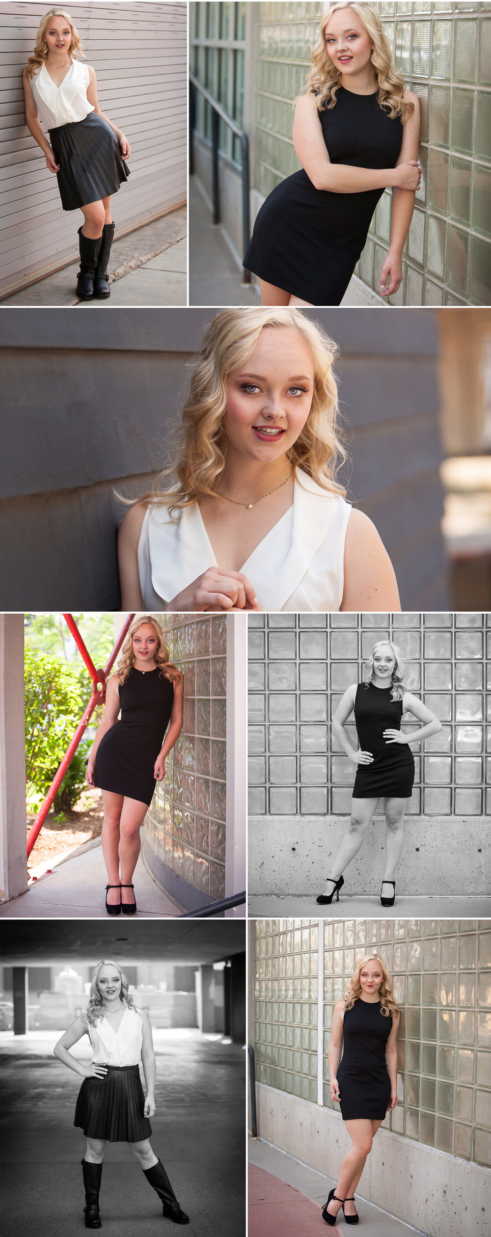 Hip, urban Senior Photos in Denver with photographer Jennifer Koskinen, Merritt Portrait Studio
