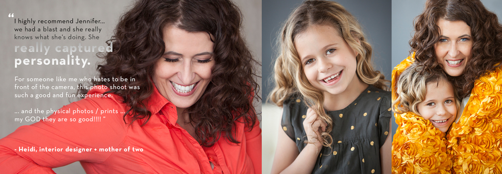 Couture personal branding and mother daughter photos by Denver photographer Jennifer Koskinen | Merritt Portrait Studio.