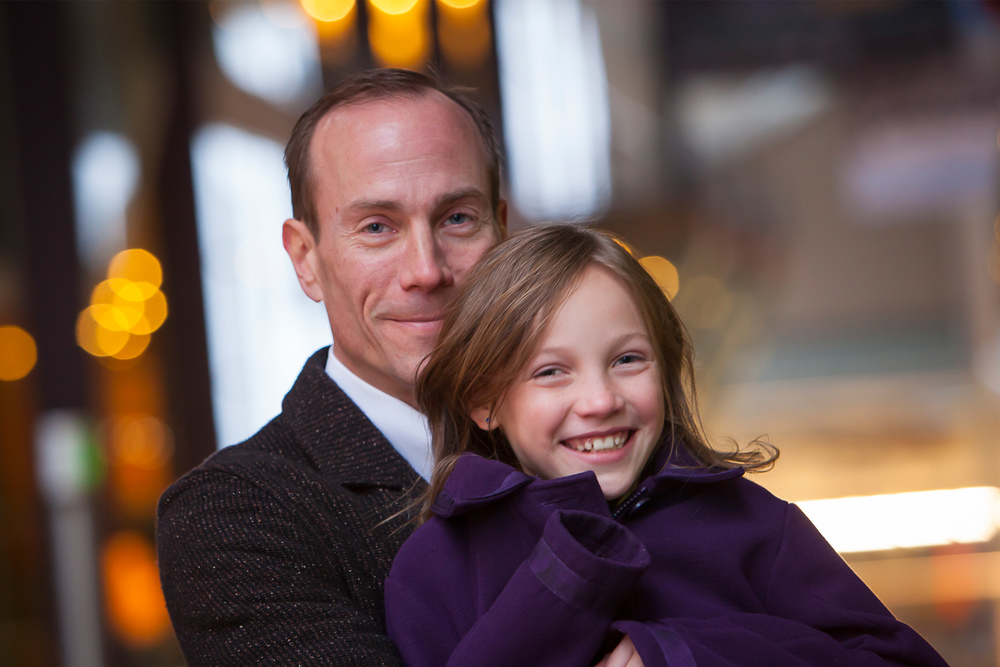 Father and Daughter Photo with Denver Photographer Jennifer Koskinen | Merritt Portrait Studio