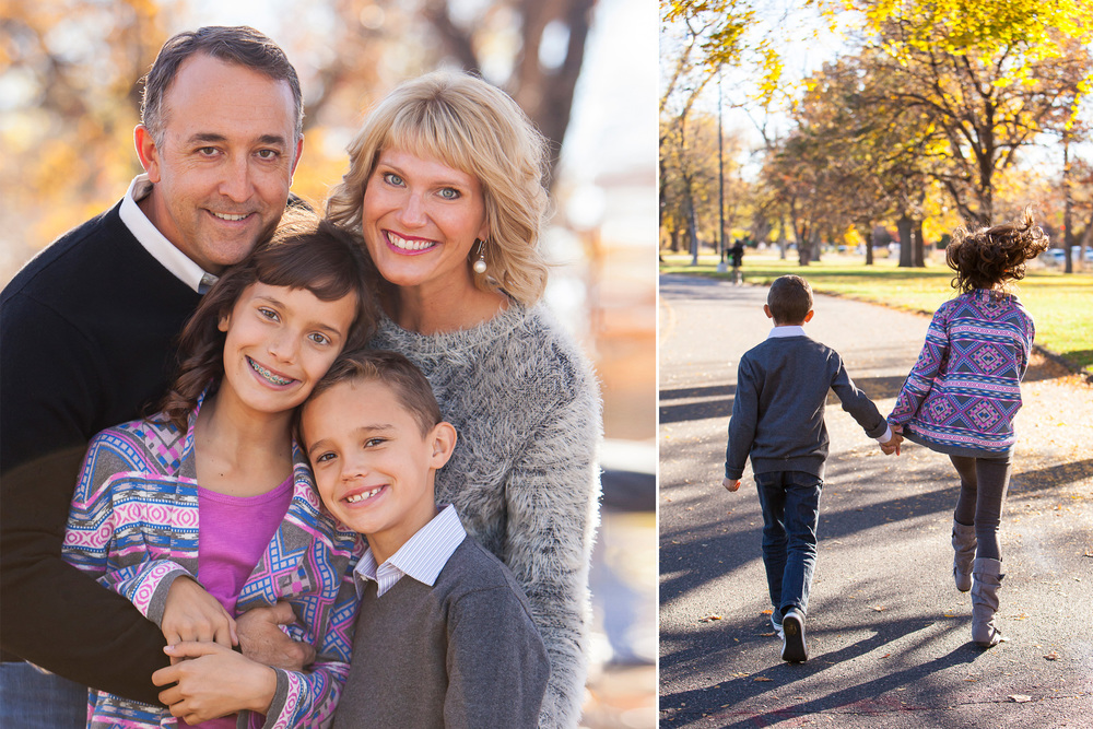 Fall Family Pictures with Denver Photographer Jennifer Koskinen | Merritt Portrait Studio