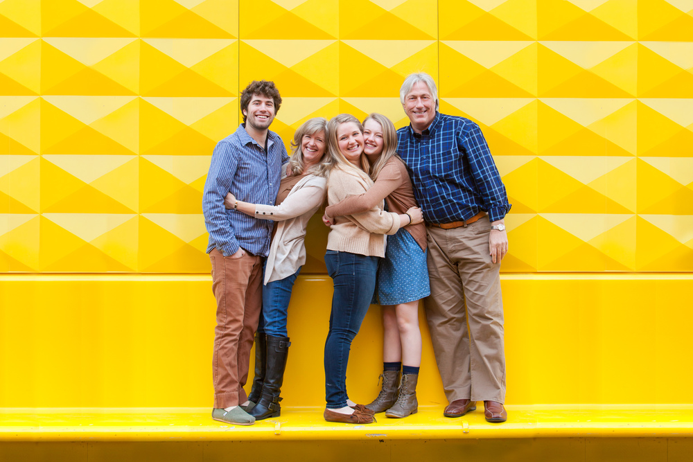 Downtown Family Pictures with Denver Photographer Jennifer Koskinen | Merritt Portrait Studio