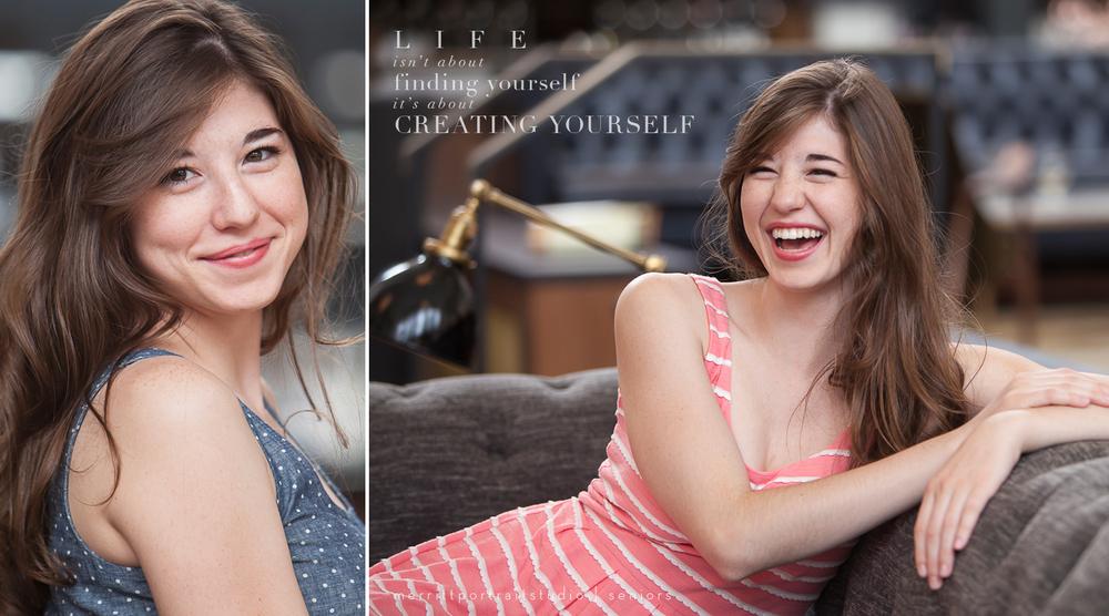 High school senior photos in Denver with photographer Jennifer Koskinen | Merritt Portrait Studio