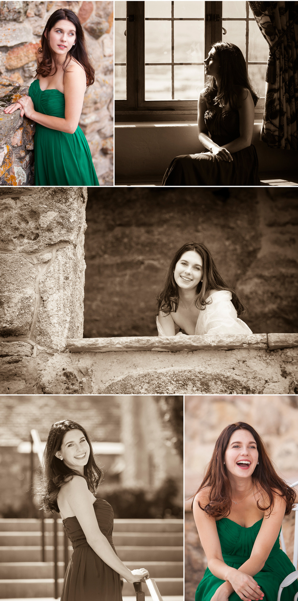 Elegant, feminine senior pictures at Cherokee Castle & Ranch south of Denver, with photographer Jennifer Koskinen | Merritt Portrait Studio