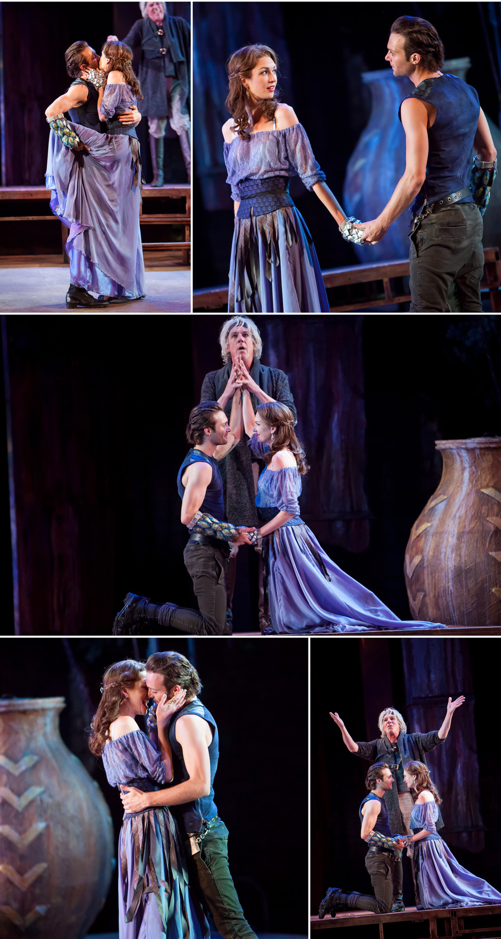 Live theatrical stage production photography of Colorado Shakespeare Festival by Denver photographer Jennifer Koskinen