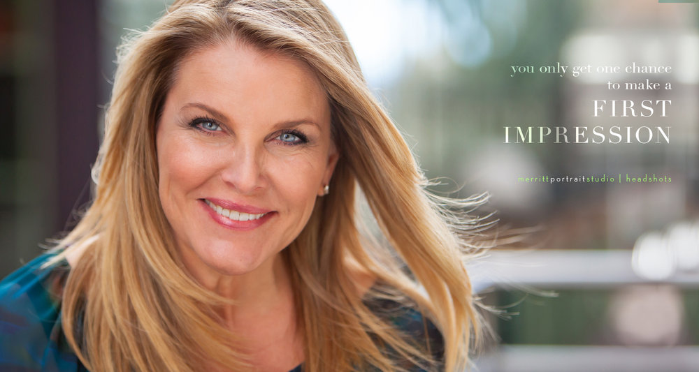 Professional woman's personal branding headshot, photo by Jennifer Koskinen, Merritt Portrait Studio