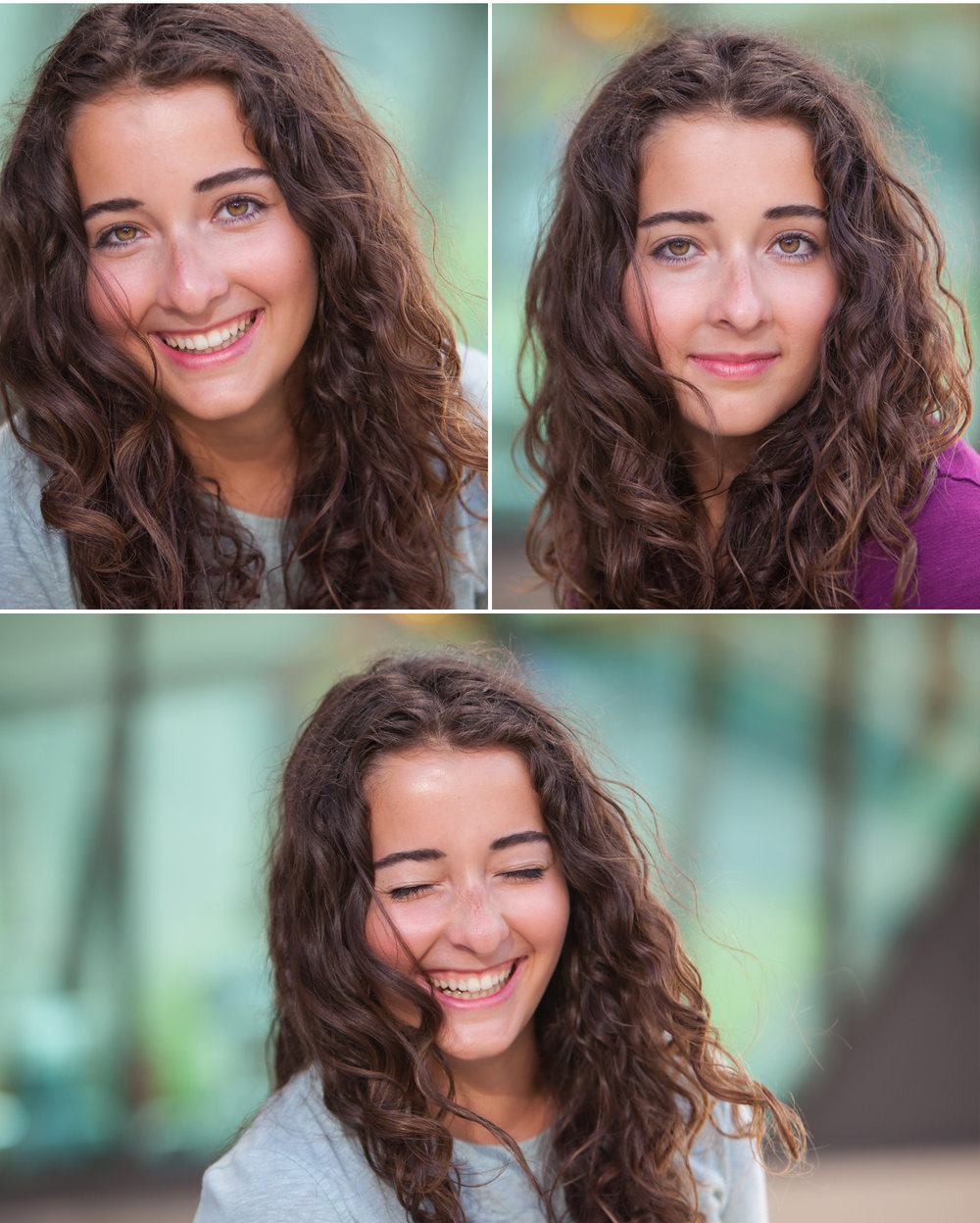 Natural, happy senior pictures, photographer J. Koskinen, Merritt Portrait Studio