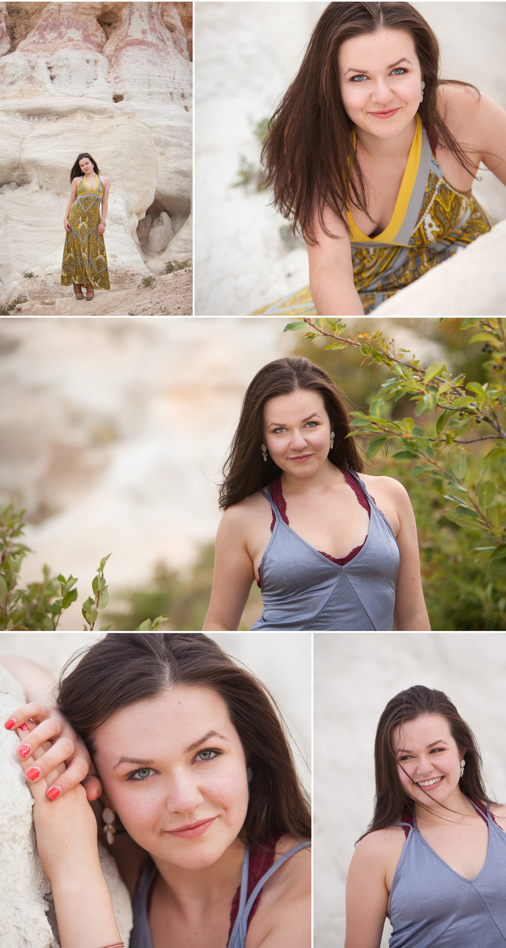 Senior Session at Painted Mines, photographer Jennifer Koskinen