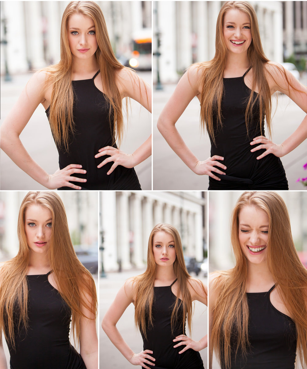 Little Black Dress Portraits in Denver