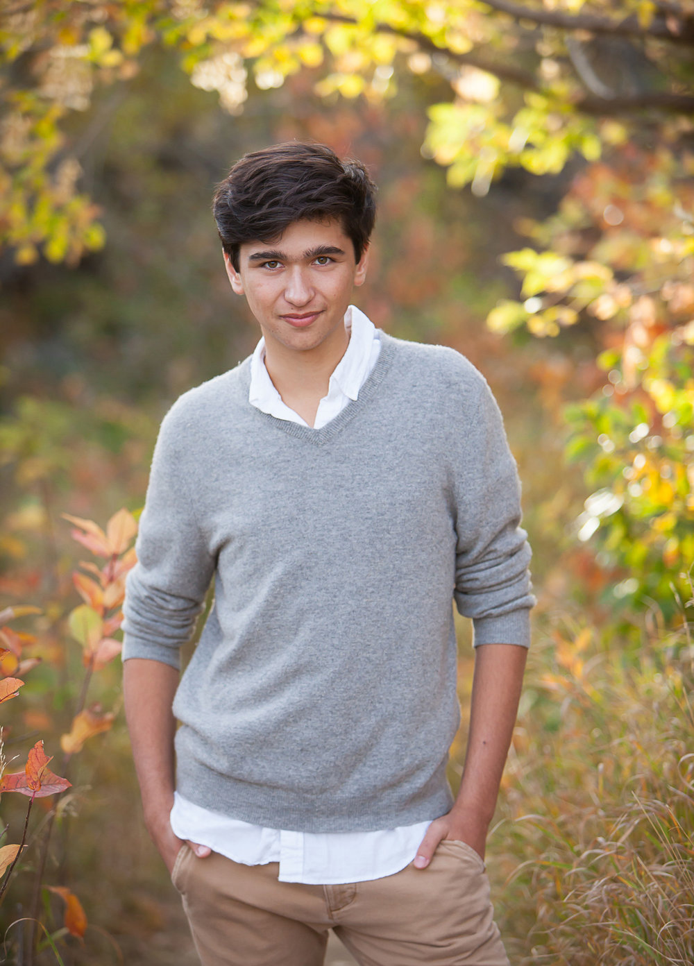 senior guy pictures in Denver mountains, photographer Jennifer Koskinen