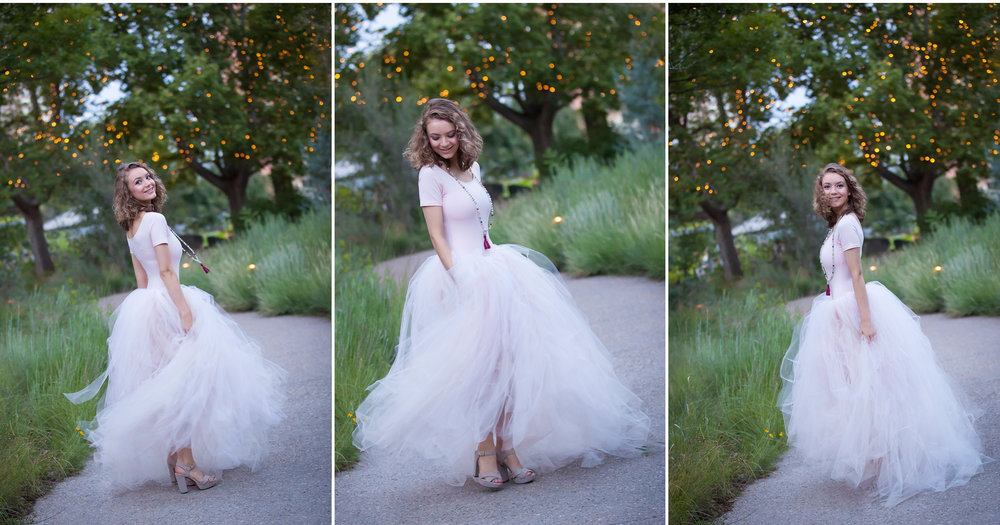 Senior Pictures at Denver Botanic Gardens, photographer Jennifer Koskinen