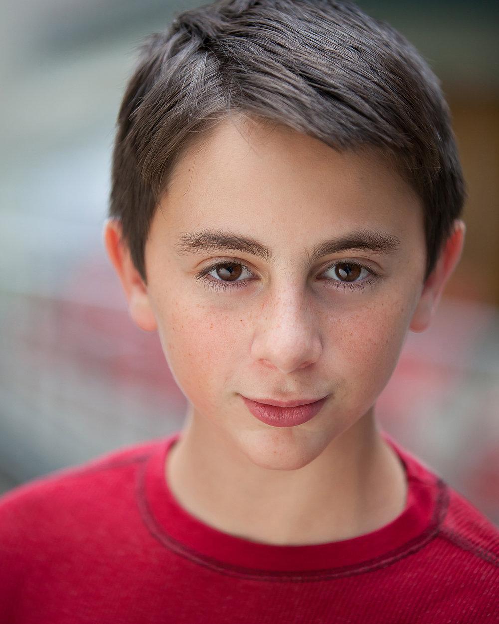 Child boy Actor Headshots with Denver photographer Jennifer Koskinen   Merritt Portrait Studio