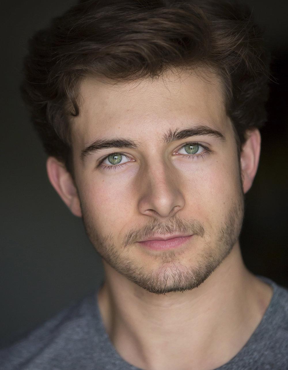 Teenage Male Actor Model Headshots in Denver with natural light photographer Jennifer Koskinen   Merritt Portrait Studio