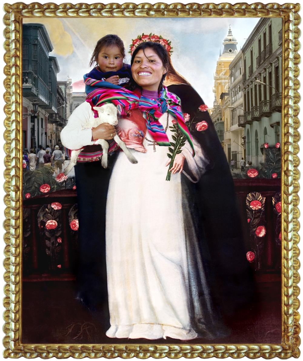 Virgen Santa Rosa