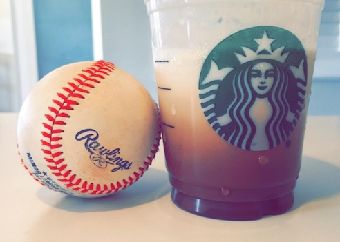 BASEBALL AND COFFEE & COFFEE & BASEBALL