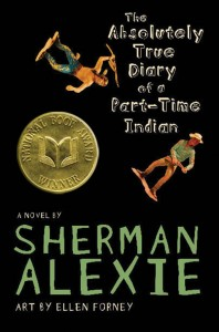 The Absolutely True Diary of a Part Time Indian Cover