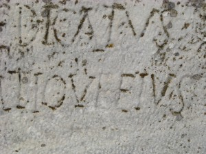 "Taken out of context, this ancient Greek or Latin inscription says, ""I love Elvis."""