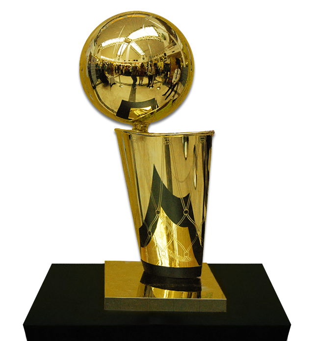 The NBA's Larry O'Brien Trophy will not be given to the winner of this contest. Sorry. Compete anyway!