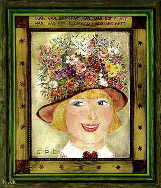 Blommor i morsans hatt
