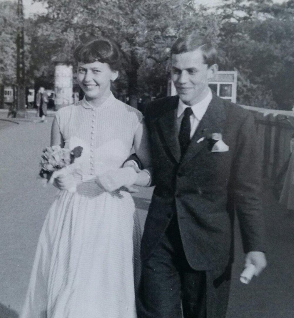 Ingegärd & Krister gifte sig 1954