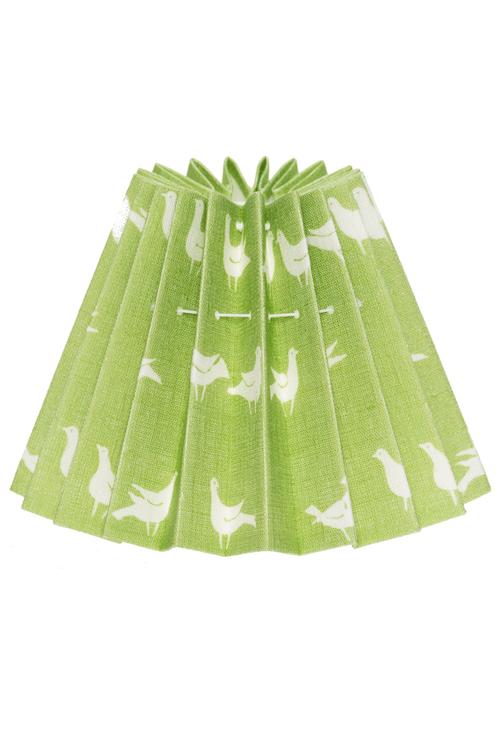 Lampskärm duvtyg ljusgrön