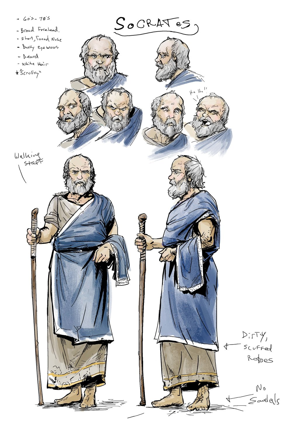 The irascible Socrates.