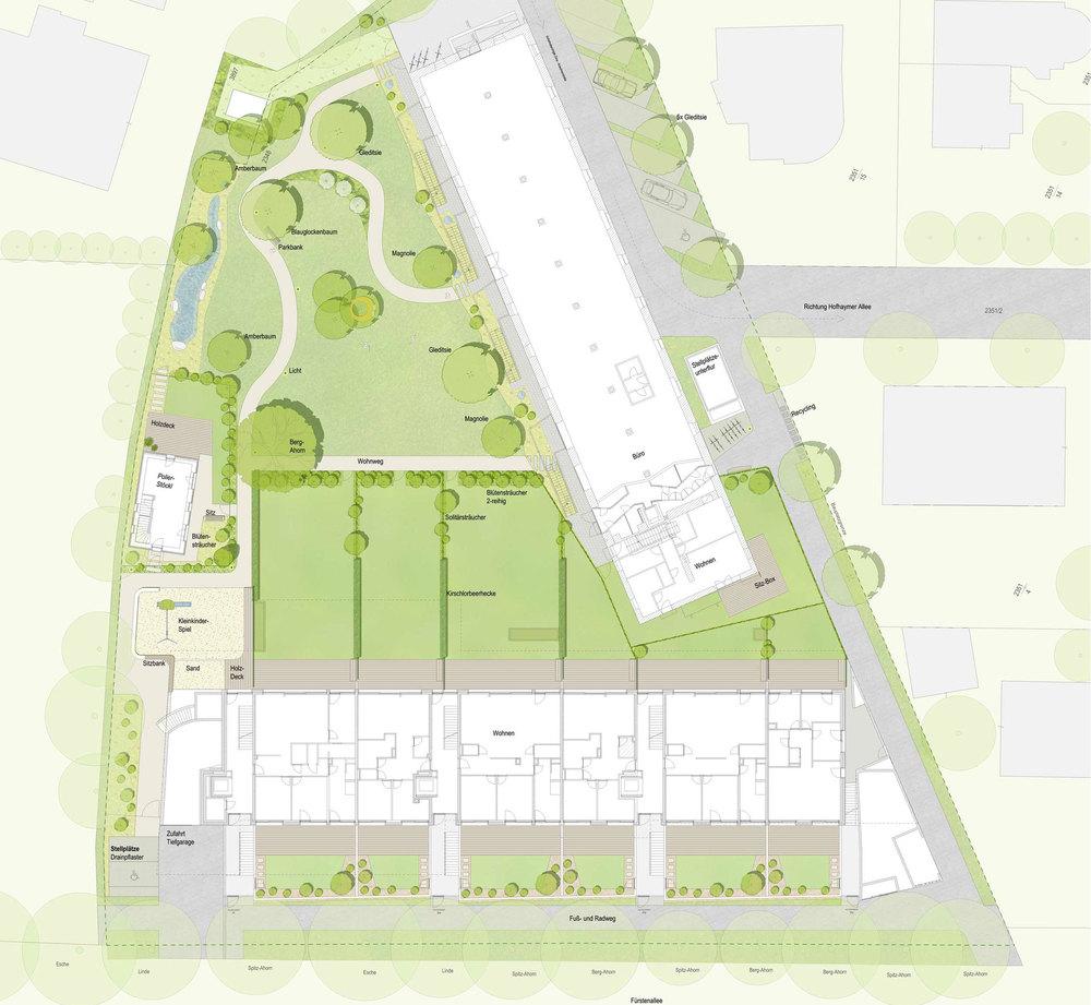 Parkplanung Fürstenallee 21