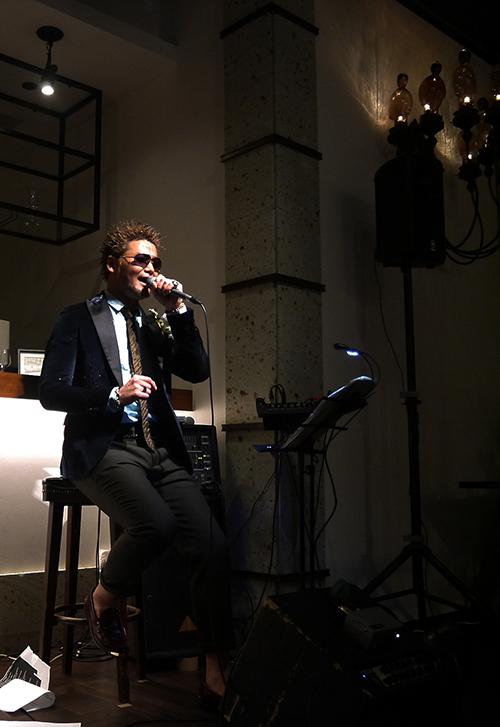 圧倒的な歌唱力のMusiqman Jr.を東京から招いて
