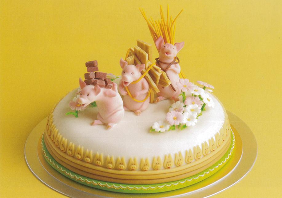パティシエ本村が名古屋マリオットホテル在籍時代に日本一を受賞したマジパンケーキ(非売品) 特別アレンジケーキのご要望はお気軽にお問合せ下さい。