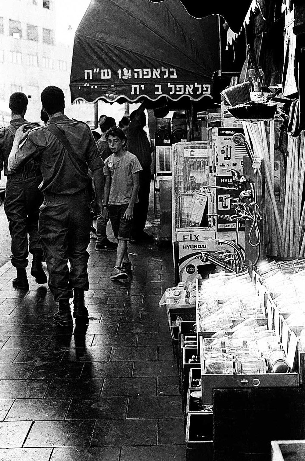 Jerusalem Street Soldiers , July 2014