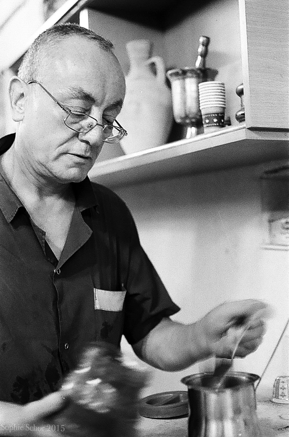 Coffee and Spice Vendor, Nazareth, August 2014