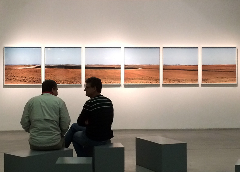 "Roi Kulper's ""Gaza Dream"" at the Israel Museum in Jerusalem."