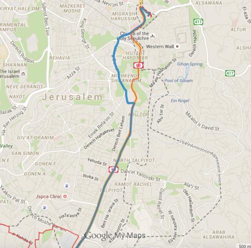 Public Transportation in Jerusalem Locus of Separation or of