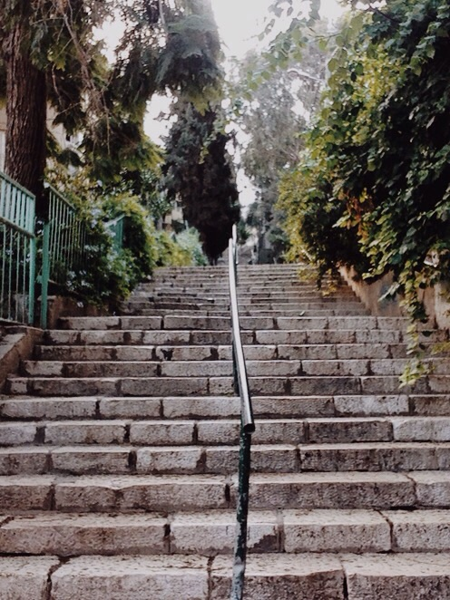 Just keep climbing...