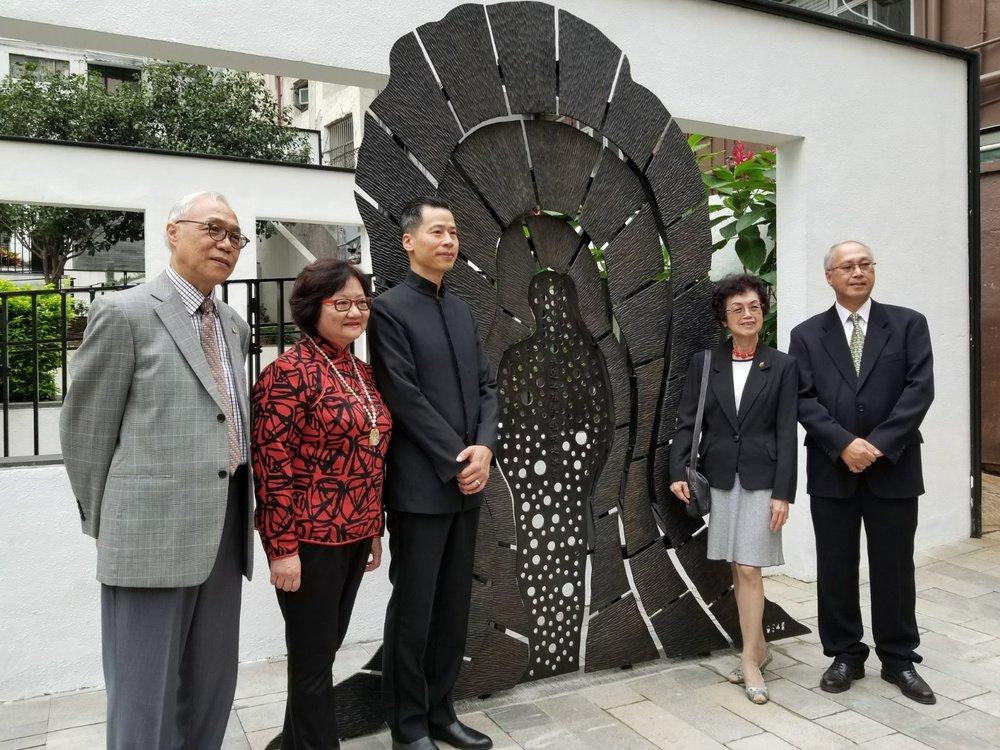 April/26/2018 Headline Daily  革命先烈曾孫媳尢曾家麗:  史蹟徑串連楊衢雲和尢列極具意義