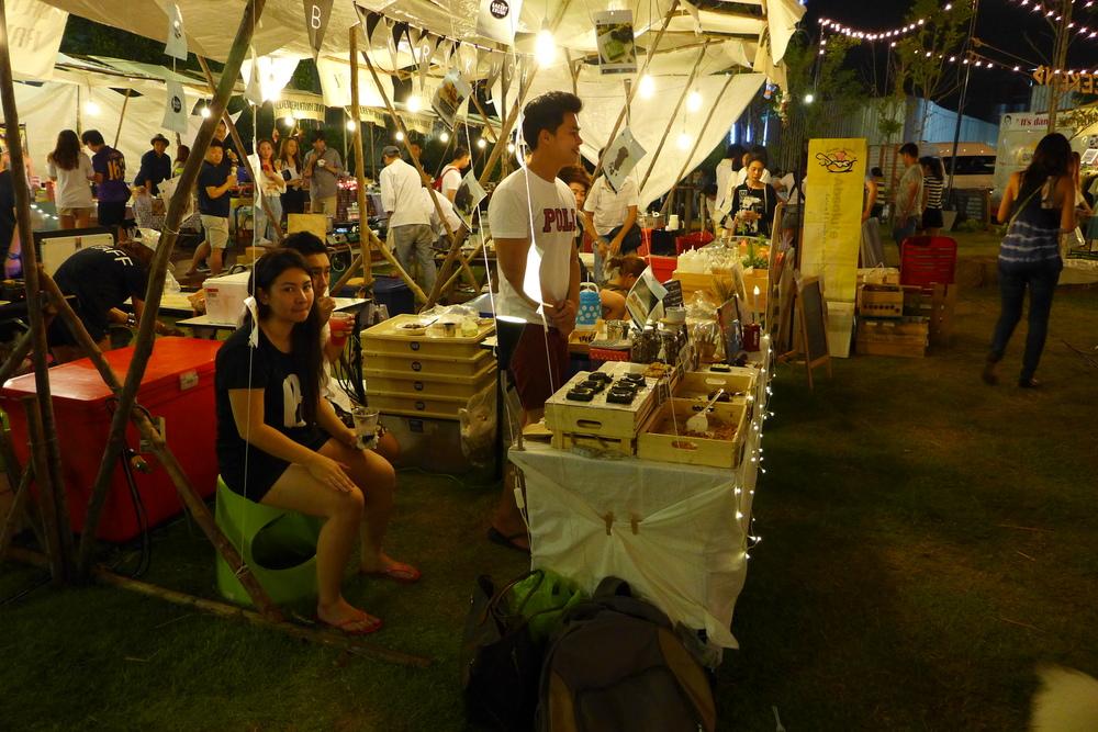 Young Energetic Entrepreneur gather in Bangkok