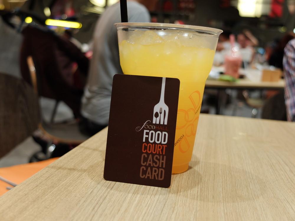 Food Court in bangkok Siam Paragon