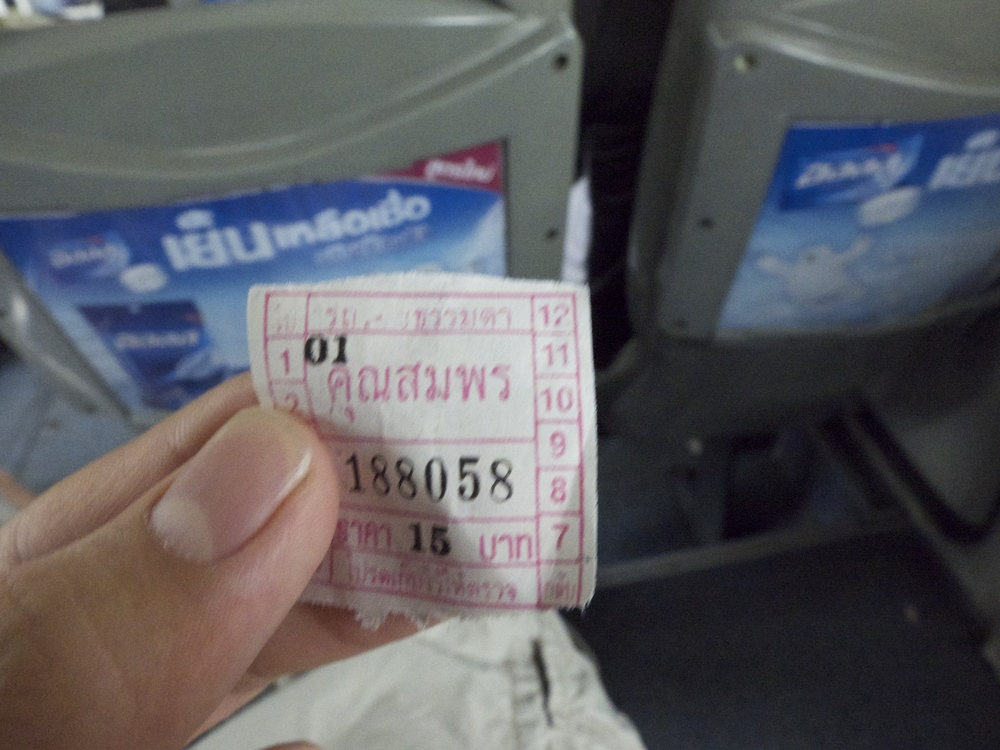 Bus Ticket in Bangkok Who is Khun Somporn?