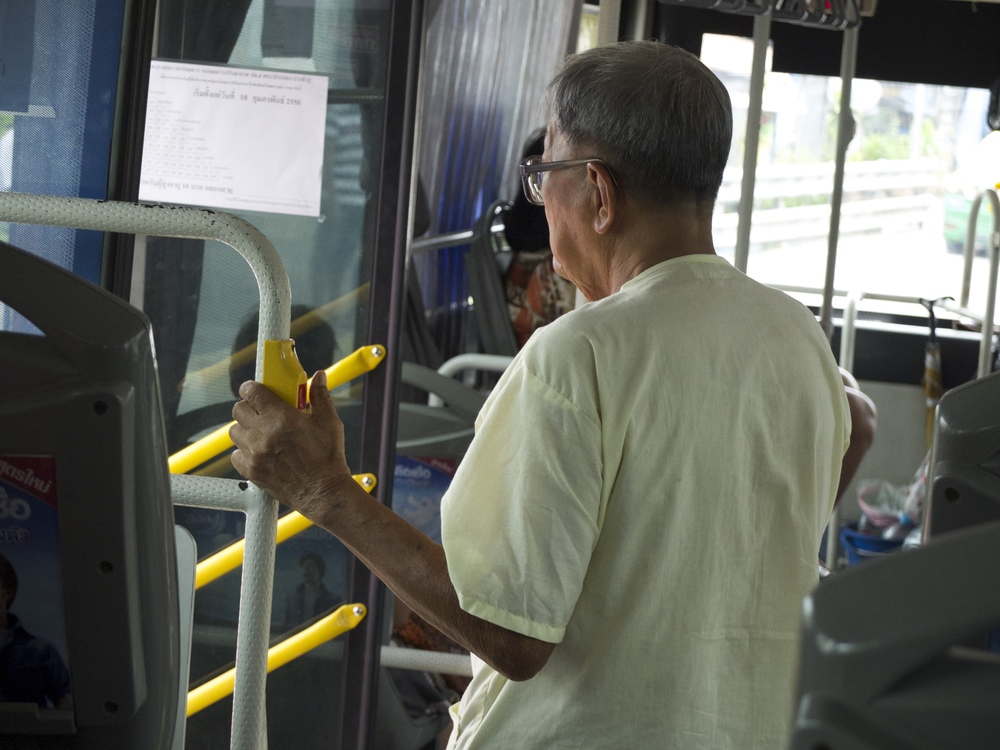 Ring The Bell before you get of the bus