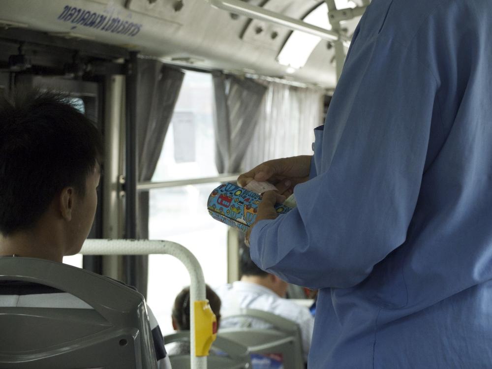 "The Bus Cashier in Bangkok AKA ""Kapao"""