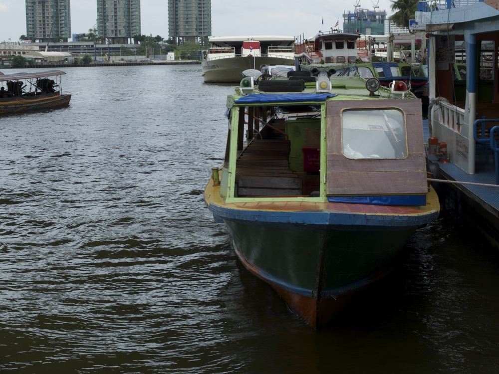 Boat at Sathorn Pier