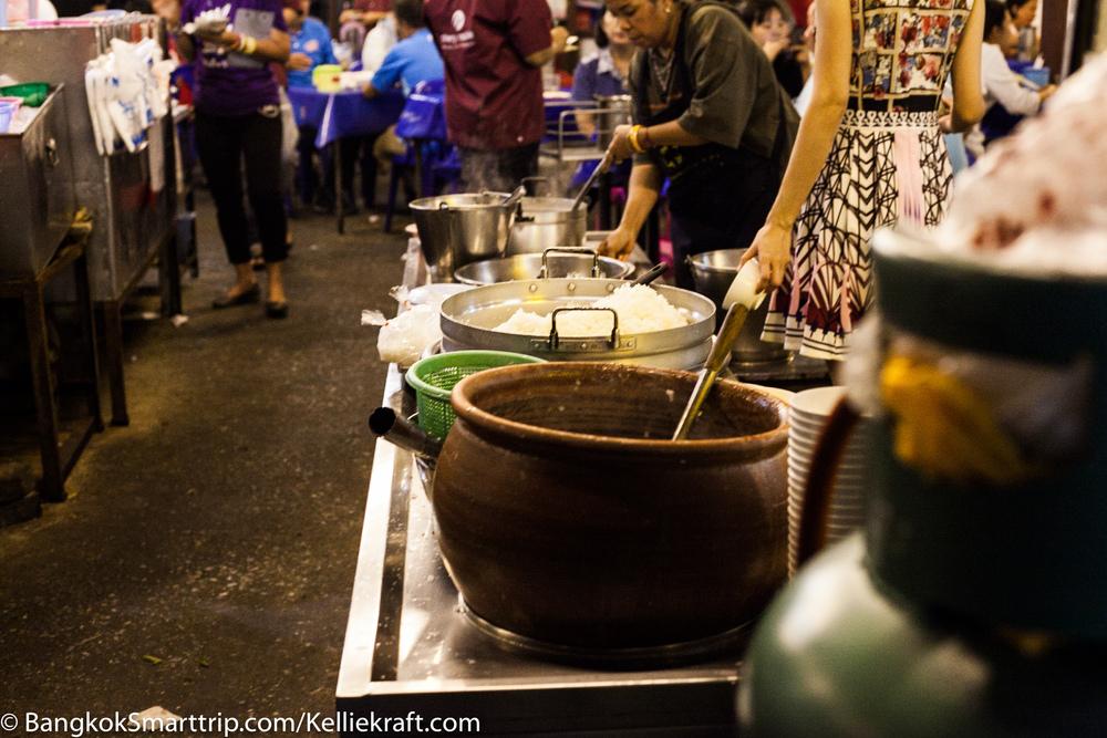 Dining at Night in Nakorn sawan
