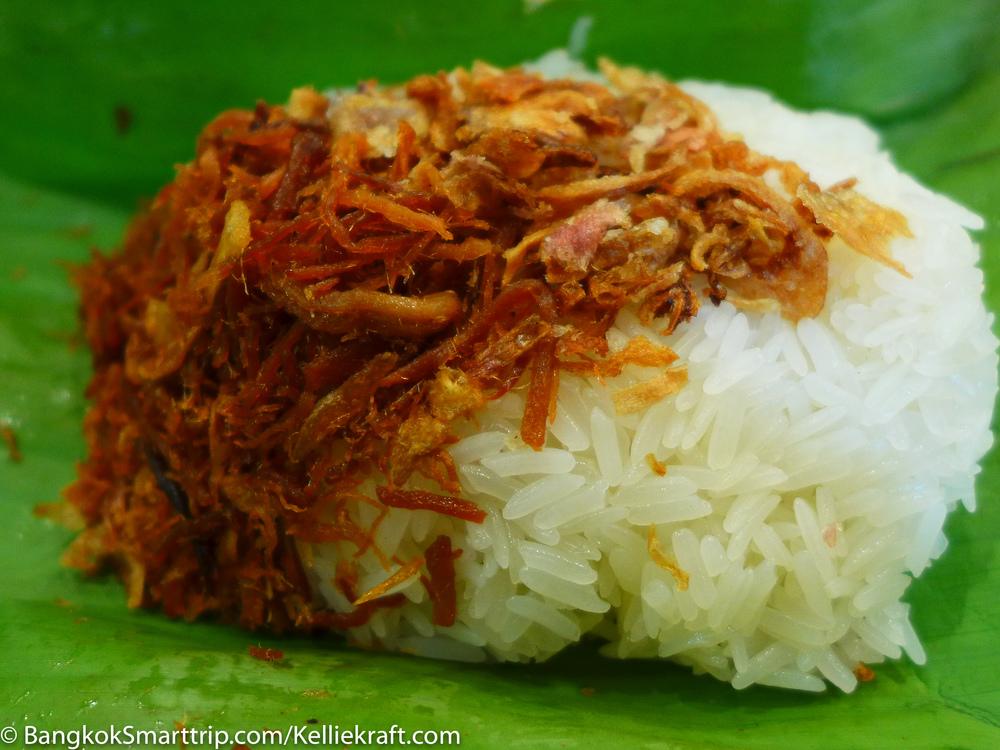 Sticky Rice with dry pork