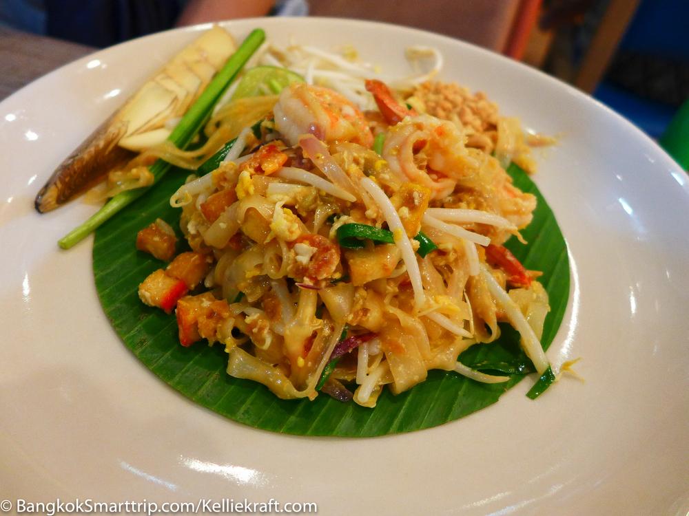 Padthai at Senafest Bangkok Sabsab Thonburi Restaurant