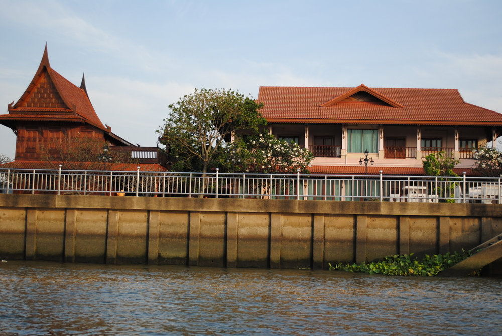 Riverside House in Nonthaburi Thailand
