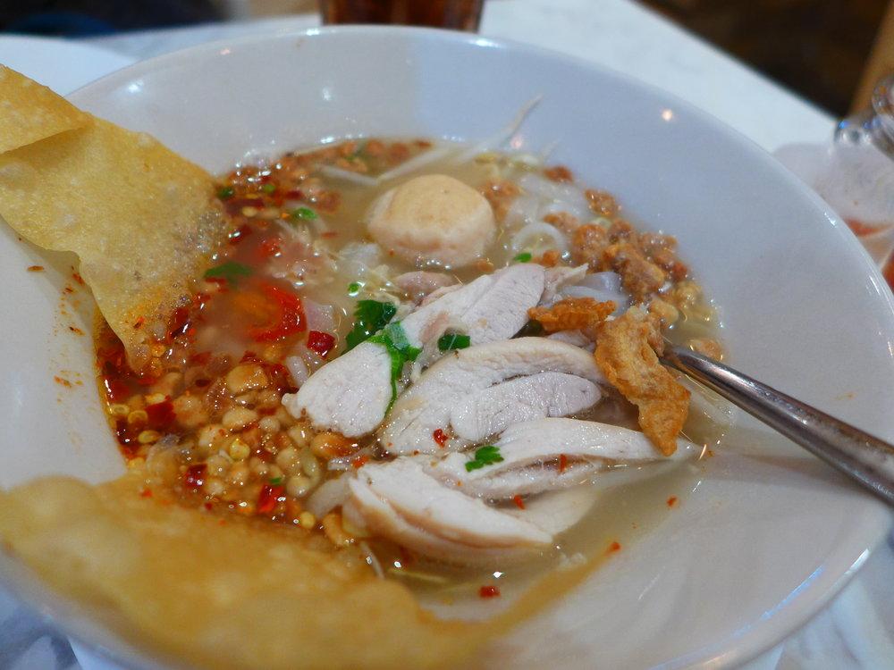 Tom Yum Noodle Chicken