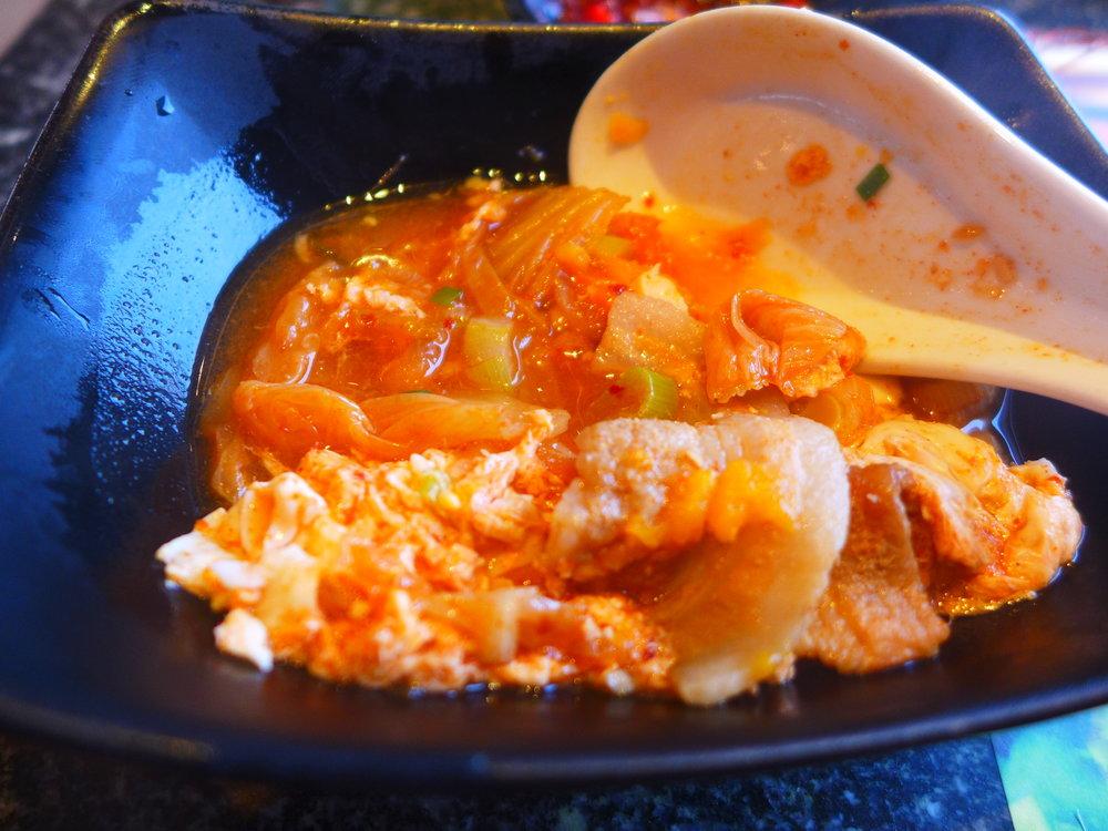 Tasty Yummy Kimchi Soup Love it