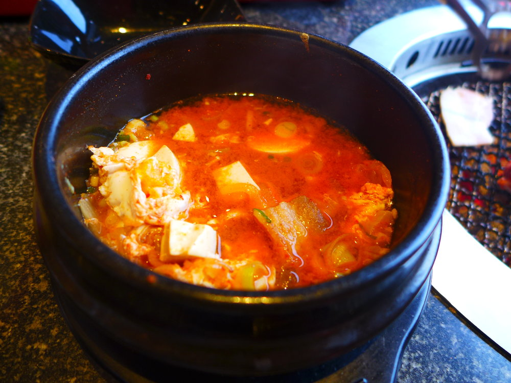 Kimchi like is good with grilled meat.