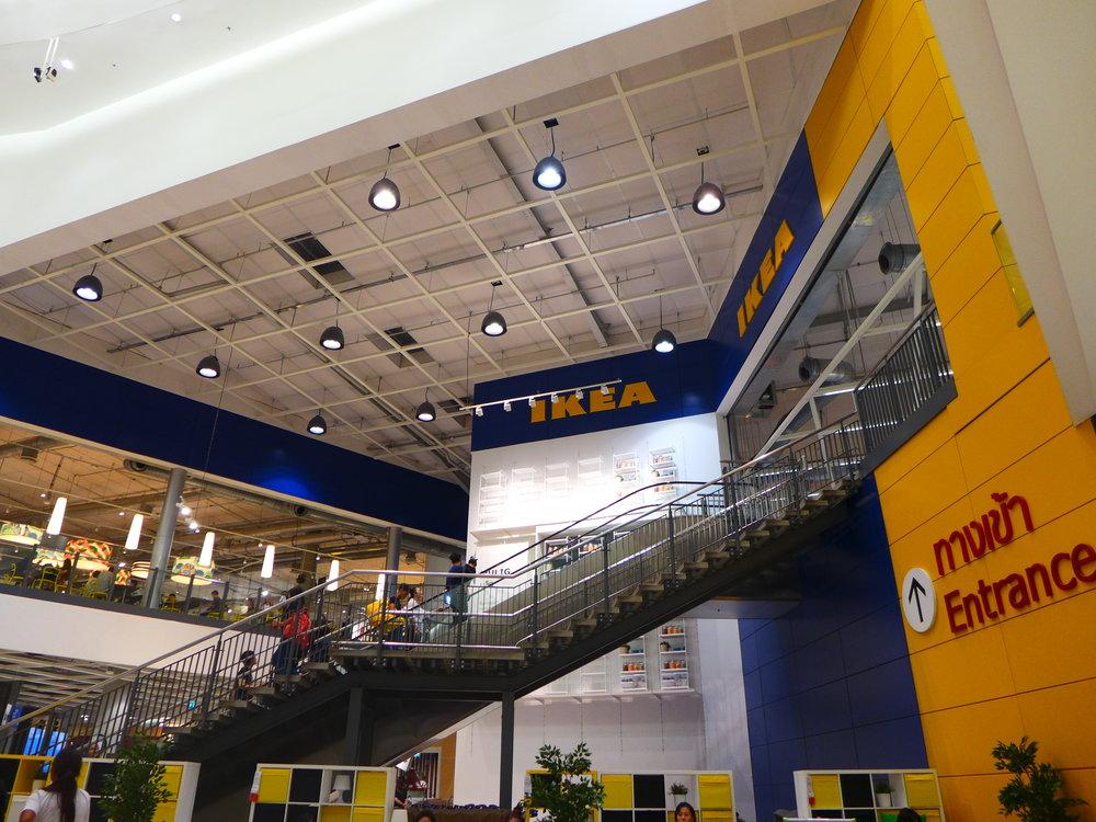 Ikea thailand at mega bangna. one of the shopping destination in bangkok.