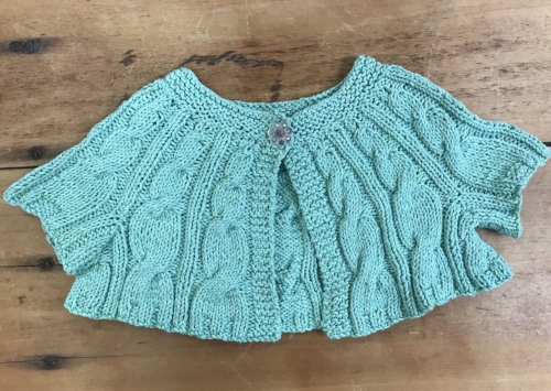 Knit in a Cotton blend yarn